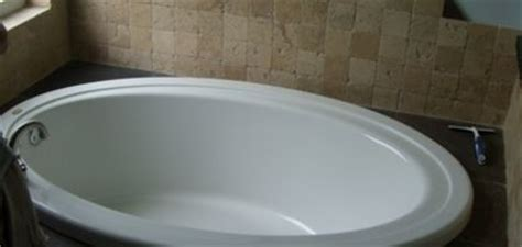 remove yellow stains acrylic tub and bathtubs on