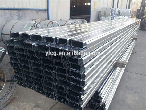 Rolled Steel Channel Sections by Cold Rolled Galvanized C Channel Steel Dimensions Buy