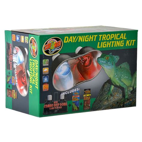 Zoo Med Zoo Med Day Night Tropical Lighting Kit Lighting Zoo Med Lighting