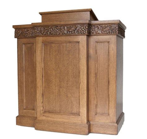 Pulpit Furniture by Overholtzer Pews And Church Furniture