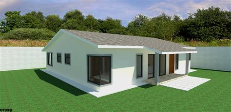 3 Bed Bungalow Plans by 3 Bedroom Bungalow Plan In Kenya Home Combo