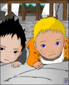 baby naruto sasuke shaunspartan deviantart