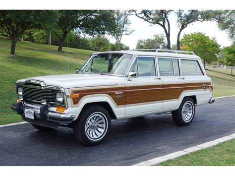 Grand Wagoneer For Sale by 1980 Jeep Wagoneer For Sale Classiccars Cc 1019512