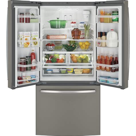 ge cabinet depth refrigerator gwe19jmles ge 33 quot 18 6 cu ft counter depth french door