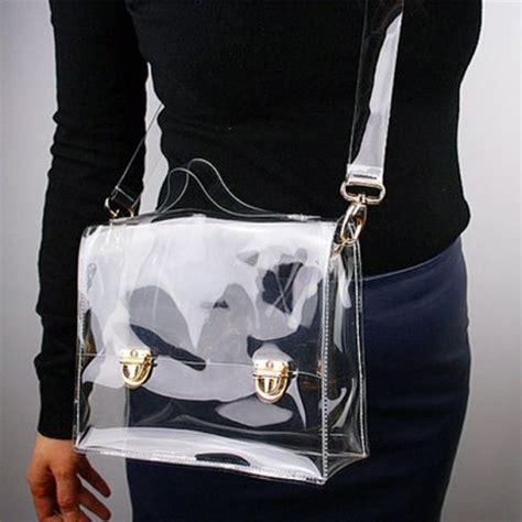Totobag Black Gold Saw Tas Bgs best 25 transparent bag ideas on clutch con