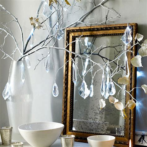 crystal home decorations modern christmas decorating ideas for your interior