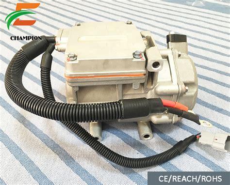 dc solar compressor  ev rv truck air conditioning