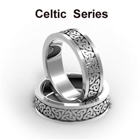 classic wedding bands celtic wedding bands white gold