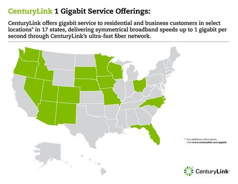 centurylink service area map mediaroom news releases