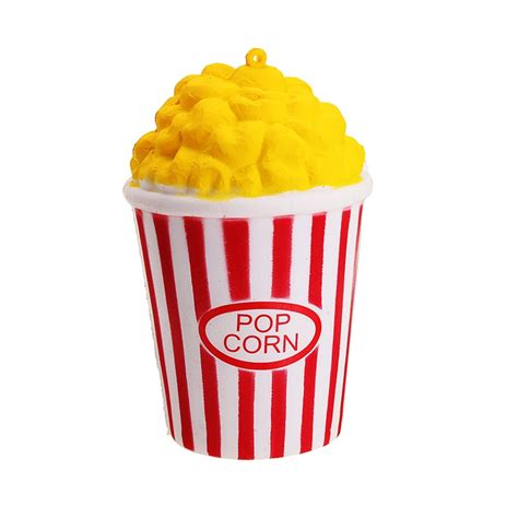Squishy Pop Corn 12cm pu jumbo squishy popcorn scented rising