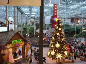 christmas decorations at the mall of america photo page