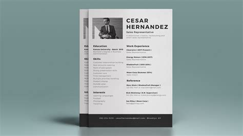 Resume Design by 50 Inspiring Resume Designs And What You Can Learn From