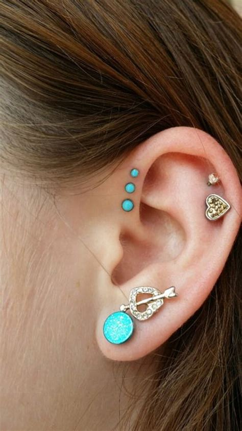 ear piercing ideas tumblr 90 helix piercing ideas for your trendiest self