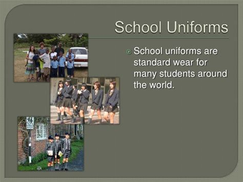 Should Students Wear Uniforms In School Essay by Essay School Uniforms Should Compulsory