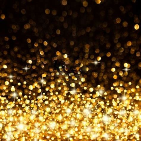 Golden Twinkle Lights Background Beautiful Backgrounds Lights That Twinkle