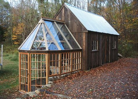 small barn house this tiny barn greenhouse would make a fine tiny house