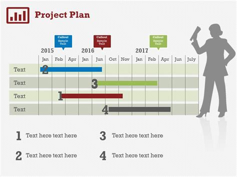 Project Plan 5 Powerpoint Template Presentation Creative Project Presentations