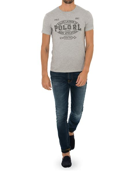 Rl Shirt polo ralph rl print crew neck