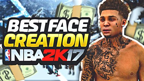 best face creation on nba 2k17 devtakeflight myplayer