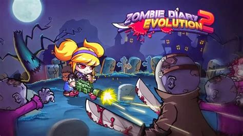 mod apk game zombie diary 2 zombie diary 2 evolution apk v1 1 3 mod unlimited money