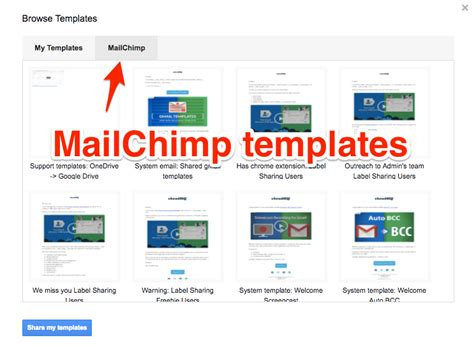 How To Import Mailchimp Templates Cloudhq Support How To Create A Mailchimp Template