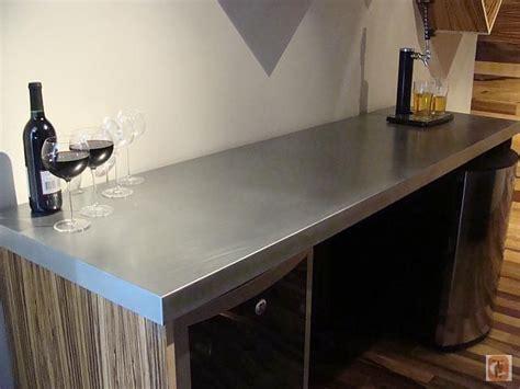 zinc bar top zinc countertop kitchen pinterest