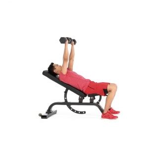 45 degree incline bench how to properly execute a incline dumbbell bench press