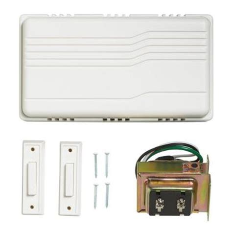 wired door bell contractor kit 216598 the home depot