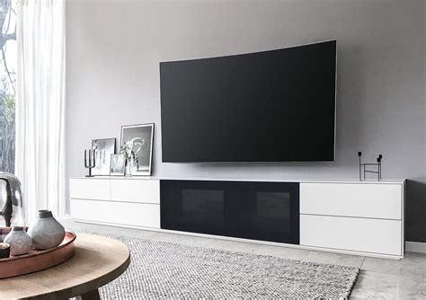 tv meubel 250 cm lowboard z 252 rich ca 250 cm weiss matt lackiert mit