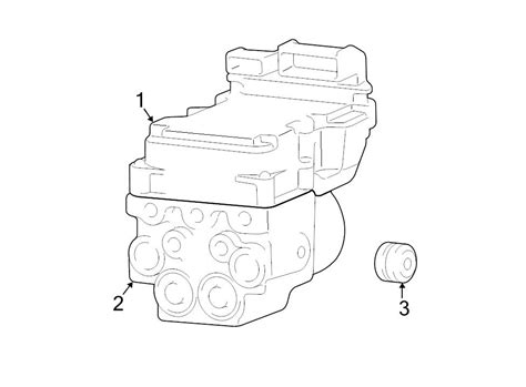 new oem mopar anti lock brake system abs module 2008 2009 dodge ram 2500 3500 ebay