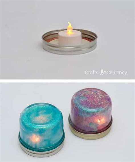 light crafts for diy jar light craft mod podge rocks