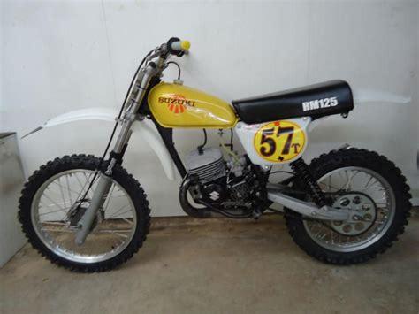 Suzuki Rm 125 Road Buy 1977 Suzuki Rm125 Rm 125 Racer Race Bike Ahrma On 2040