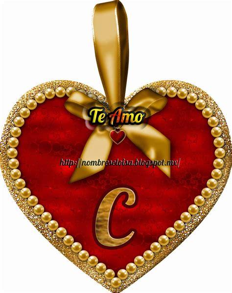 imagenes de corazones con iniciales nombreseloisa com medalla coraz 243 n iniciales