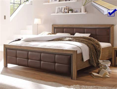 Massivholz Betten 140x200 by Massivholzbett Cinco 140x200 Akazie Massiv Matratze