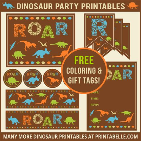 printable birthday cards dinosaur free dinosaur party printables and free items printabelle