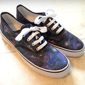 custom galaxy canvas shoes vans toms etc from mycustomkicks on