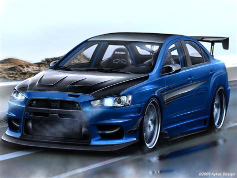 lancer evo inovatif cars mitsubishi evo x