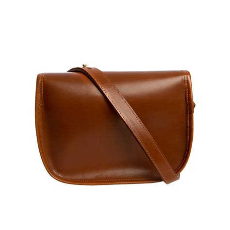 leather saddle bag made in