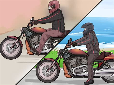 how to ride motocross the best way to ride a motorcycle beginners wikihow