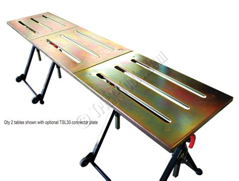 portable welding bench strong hand nomad portable welding table by stronghand