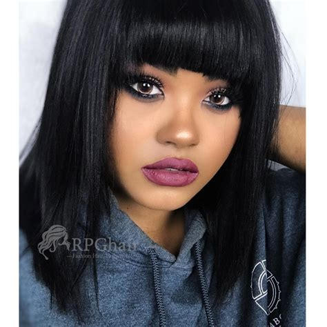 pics of bob hairstyles with remy hair yaki bob hairstyle indian remy hair glueless lace front
