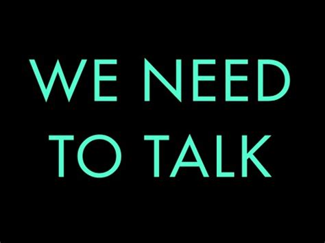 we talk we need to talk trailer