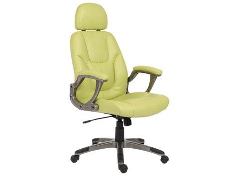 chaise de bureau verte chaise de bureau vert anis