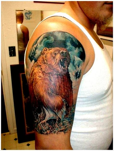 tattoo ideas bear 35 bear tattoo designs for your animalistic side