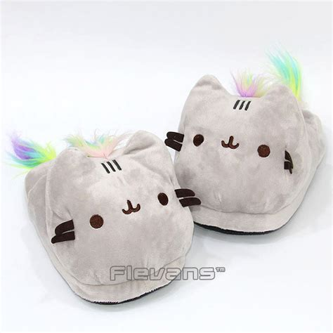 plush slippers for adults pusheen cat plush slippers winter warm