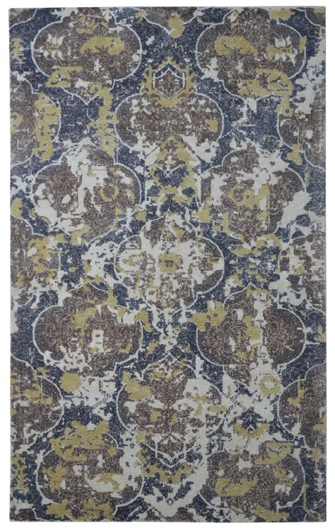moroccan print rug barret printed loom moroccan damask brown rug 5x8