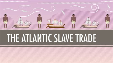 when did color tv began the atlantic trade crash course world history 24