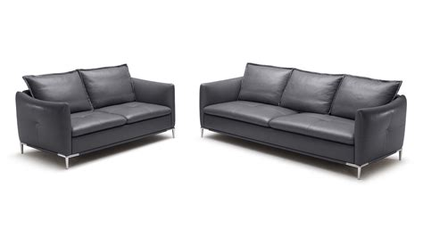 Leather Sofas Bristol Grey Bristol Leather Sofa Set With Loveseat And Chair Zuri Furniture