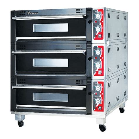 oven roti gas luxury  deck  trays oven roti murah