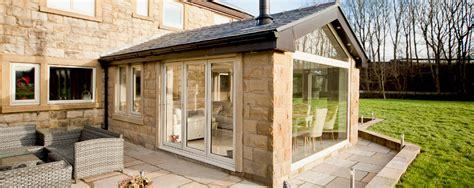ultraframe veranda bluebell conservatories tile glass roof extensions
